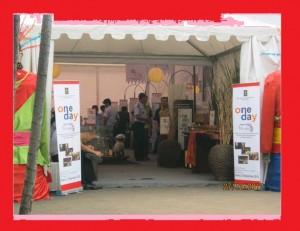 Gambar tenda roder di event