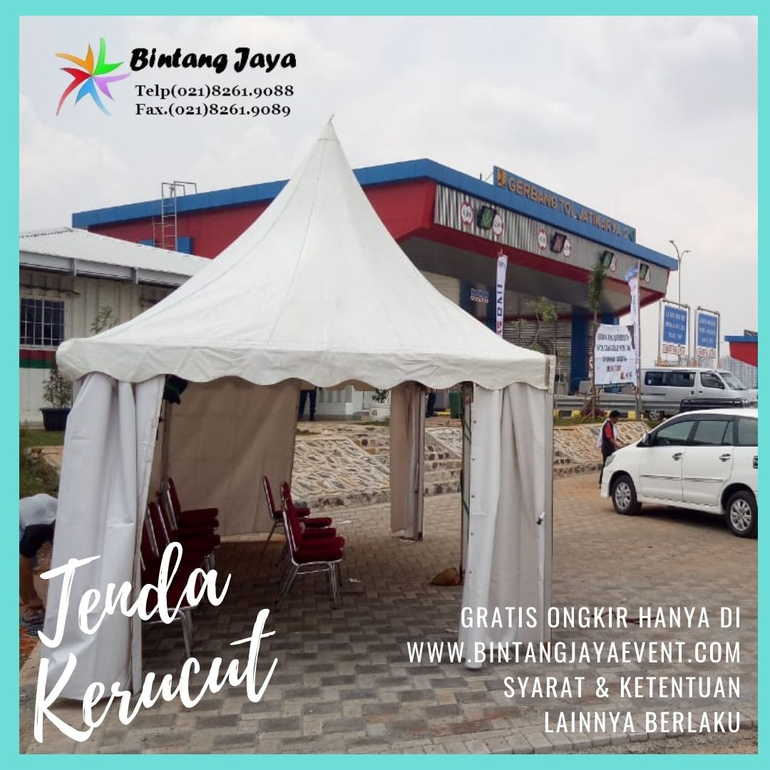 Tempat Rental Tenda Kerucut Jakarta Utara Pelayanan 24 Jam